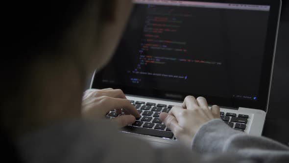 Cover Image for Programmer  Working On Laptop
