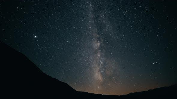 Night Sky Milky Way TimeLapse