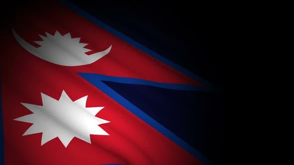 Thumbnail for Nepal Flag Blowing in Wind