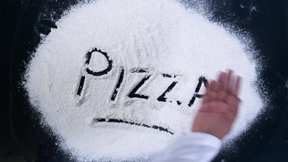 Thumbnail for Flour Writing Pizza