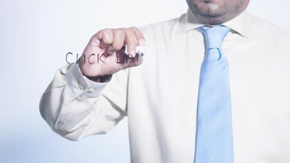 Asian Businessman Writes Click Bait