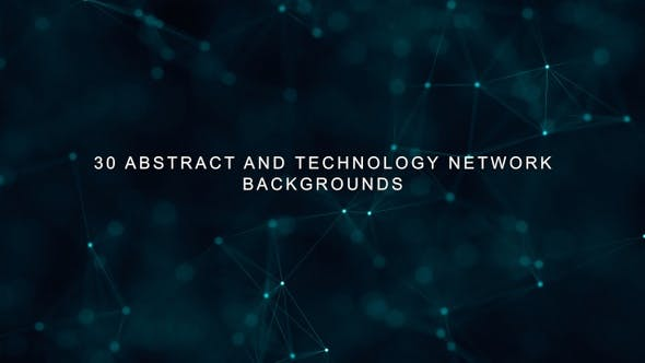 Thumbnail for 30 Abstract and Technology Network backgrounds PACK