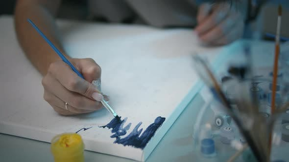 Talent Person Drawing Picture