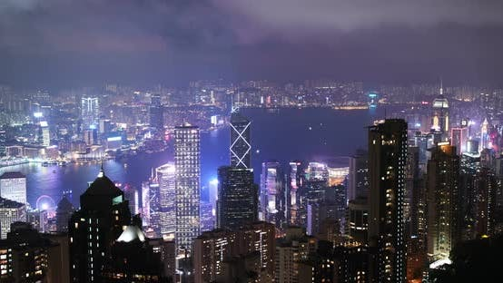 Thumbnail for Hong Kong city night