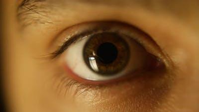 Eye Extreme Close Up