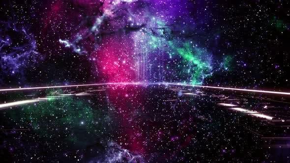Nebula-Brücken-Schleife 4K