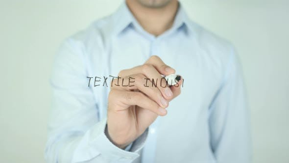 Thumbnail for Textile Industry, Writing On Screen