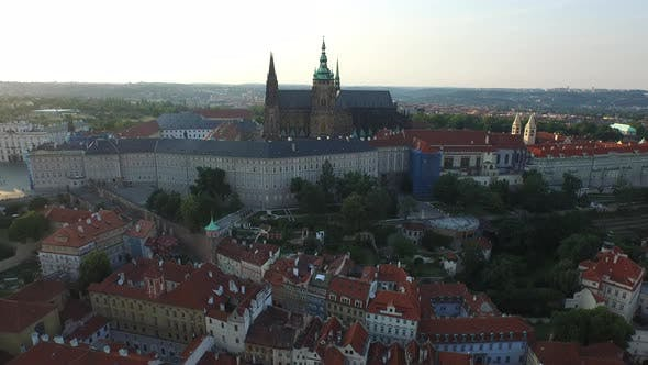 Thumbnail for Aerial of St. Vitus Cathedral