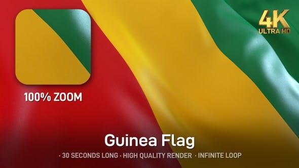 Thumbnail for Guinea Flag - 4K