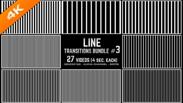 Thumbnail for Line Transitions Bundle 3 - 4K