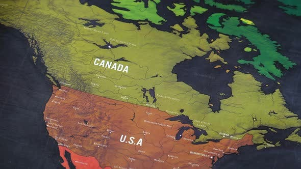 Thumbnail for North America World Map