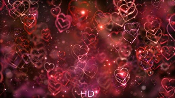 Thumbnail for Liebe Hintergrund Rot
