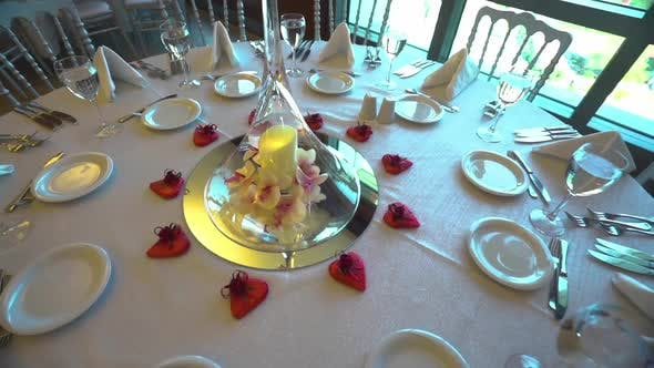 Thumbnail for Luxury Dinner Table With Candle