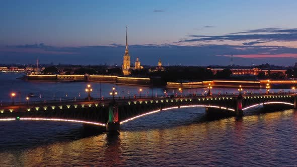 Thumbnail for Peter and Paul Fortress and Troitskiy Bridge