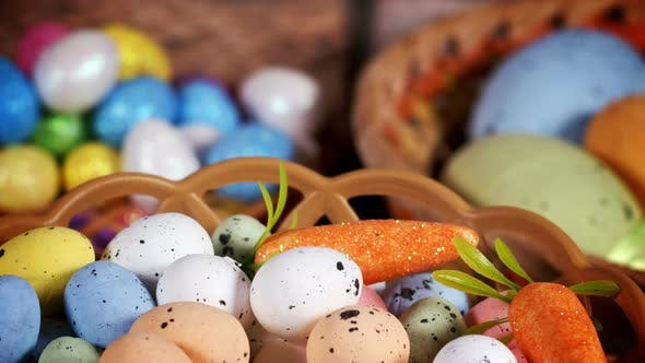 Thumbnail for Colorful Traditional Celebration Easter Paschal Eggs 07