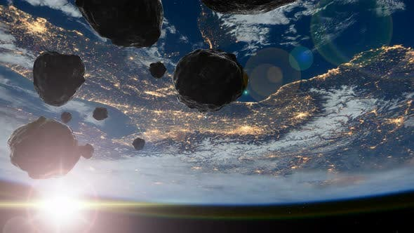 Earth and Asteroids