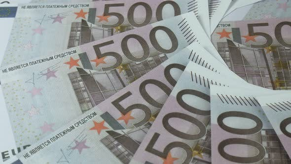 Euro Currency Of Different Denominations