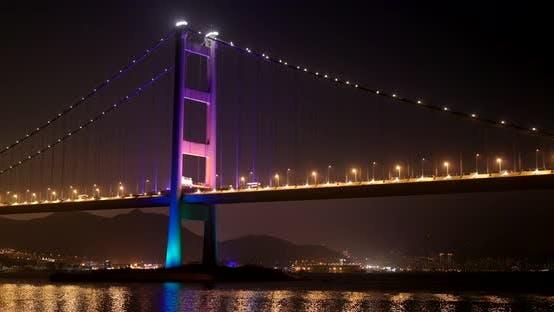 Thumbnail for Tsing ma bridge at night