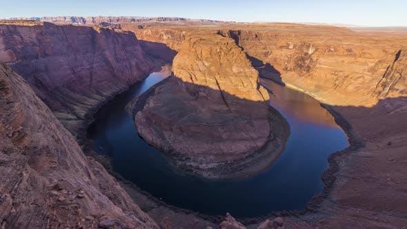 Thumbnail for Horseshoe Bend on Sunny Morning. Colorado River Meander. Arizona, USA
