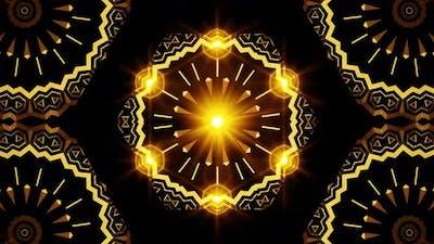 Kaleidoscope Gold Luxury