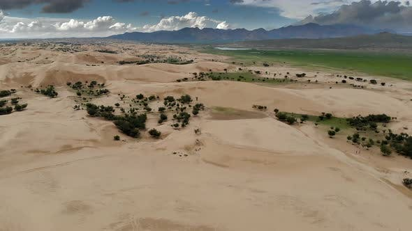 Sand Dunes in Mongolia