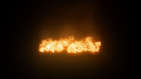 Ground Fire Wide