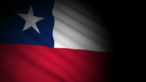 Thumbnail for Chile Flag Blowing in Wind