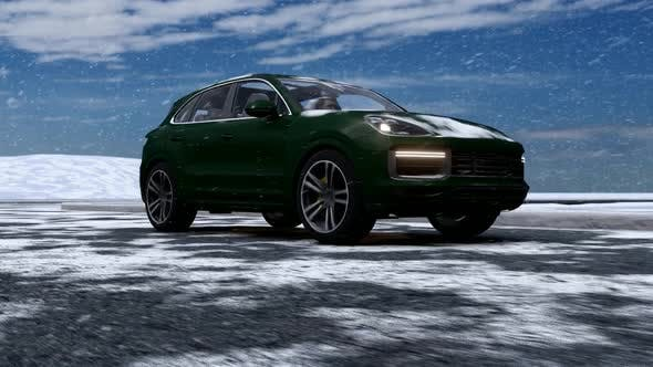 Thumbnail for Sport SUV and Snow