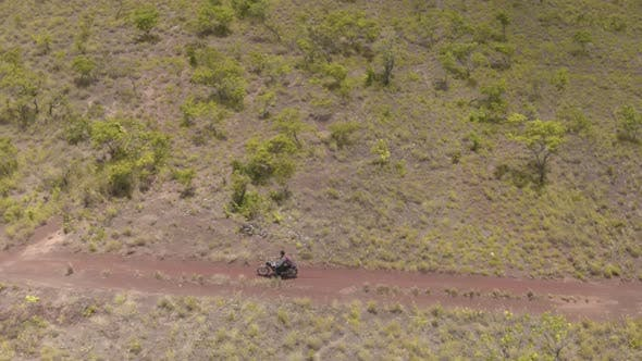 Thumbnail for Motorbike on Dirt Road