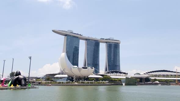 Thumbnail for Hyperlapse of Singapore Along the Bay