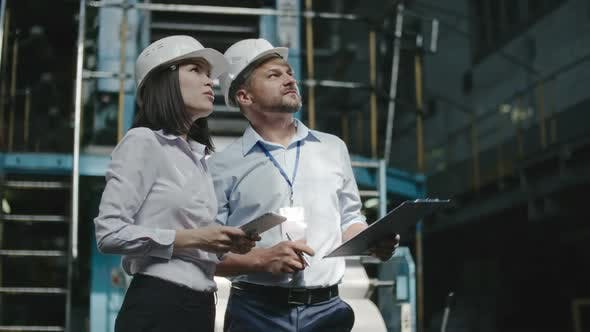 Thumbnail for Executive Engineers Performing Inspection