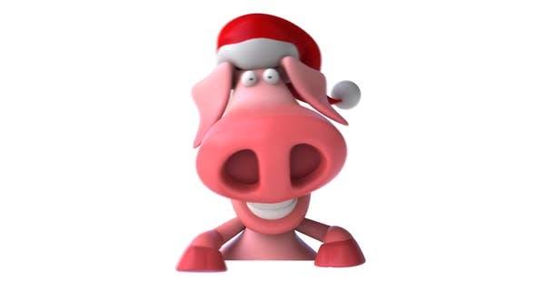 Thumbnail for Santa pig