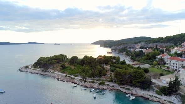Thumbnail for Coastline of Hvar Croatia