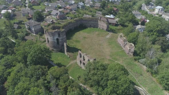 Thumbnail for Aerial of Buchach Castle
