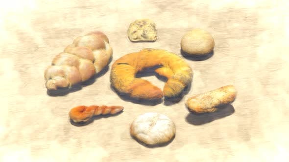 Types of Bread Stop Motion