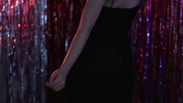 Holiday Dance Sexy Woman Night Club Celebration