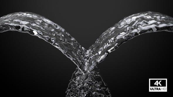 Fountain Pure Water Splash