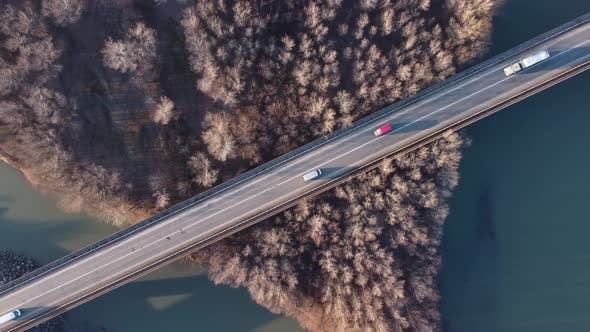 Vehicles On The Bridge