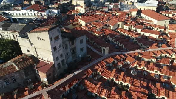 Cover Image for Grand Bazaar Roofs Istanbul Aerial View 2