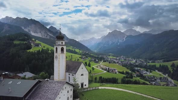 Thumbnail for Alpine Village in the Dolomites