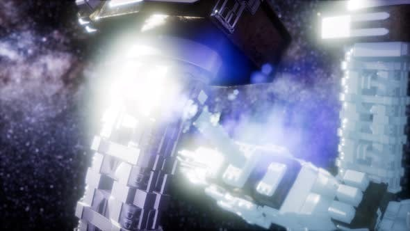 Thumbnail for Spaceship Spacecraft Outer Galaxy Universe