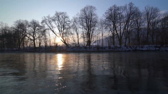 Thumbnail for Sunrise Morning by River