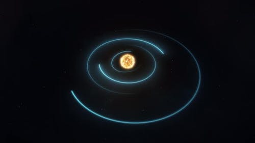 Graphical Representation of Planetary Orbits Within the Solar System