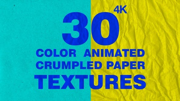 Color Crumpled Paper Pack 4K