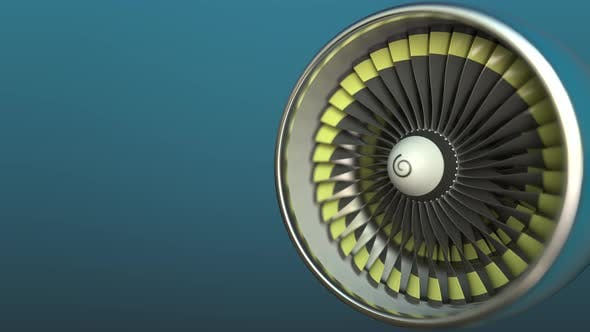 Cover Image for Airplane Turbine Engine