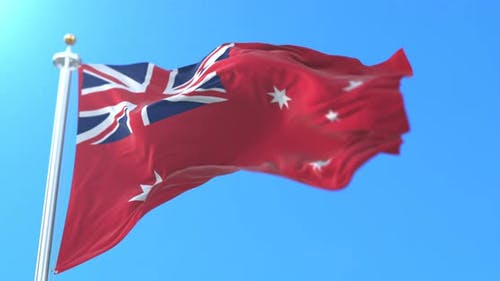 Australian Red Ensign, Australie