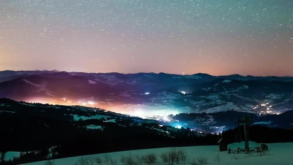 Thumbnail for Milky Way Time Lapse in Carpathian Mountains