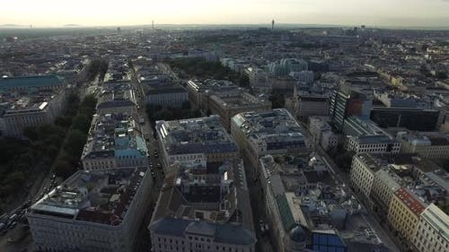 Vienna seen from above