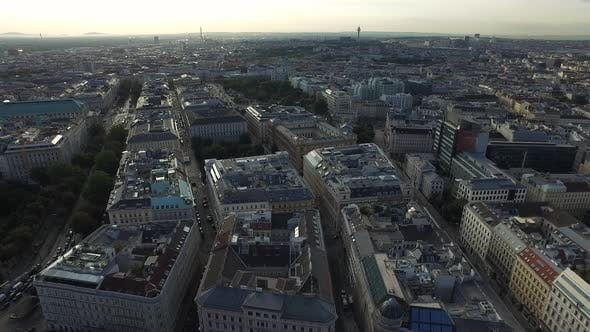 Thumbnail for Vienna seen from above