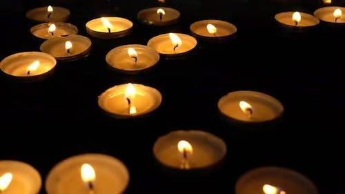 Candles Float on Water